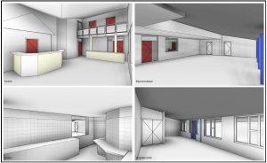 3d model van wijkcentra