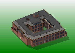 Haniahof Leeuwarden 3D b