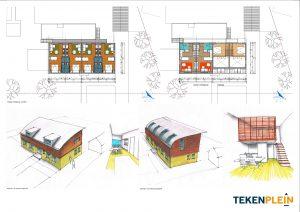 ontwerp appartementencomplex
